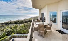 Tide Lines | Seagrove Beach | #30A | 'Tide Lines' is a spectacular 4-bedroom GULF FRONT condo located in the heart of Seagrove Beach with sweeping views of the white sugar sandy beaches and emerald green waters.
