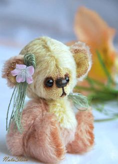 Seriously...I would love having one of these tiny...sweet...sweet bears in every room! <3<3<3