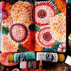 Trendy art journal pages inspiration stencils ideas Kunstjournal Inspiration, Art Journal Inspiration, Art Inspo, Art Inspiration Drawing, Art Journal Pages, Art Journals, Junk Journal, Arte Sketchbook, Art Journal Techniques