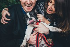 This dog whose parents are about to make things legit. | 17 Of The Most Spectacular Engagement Photos You'll Ever See