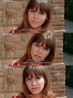 Anna Karina Quotes, Love Movie, Movie Tv, Lou Le Film, Best Movie Lines, French New Wave, Movie Subtitles, Jean Luc Godard, Film Inspiration