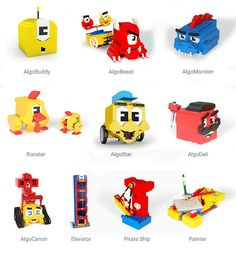 The most exciting and comprehensive code learning game for kids Learning to program bots and transforming code into play.