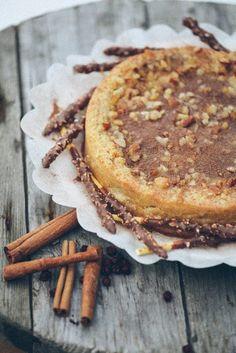 Ореховый десерт.