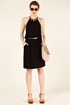 cut work sun dress - $60