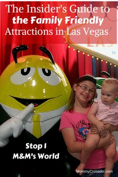 Come learn how to visit Las Vegas the Family Friendly way!  Come with us to M&M's World!