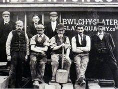 Slate Miners of Blaenau Ffestiniog