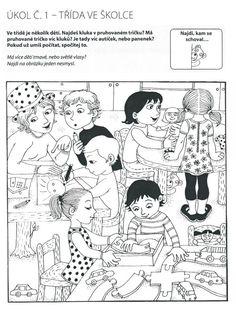 Hidden Pictures, Stories For Kids, Speech Therapy, Kids And Parenting, Montessori, Kindergarten, Preschool, Teaching, Cartoon