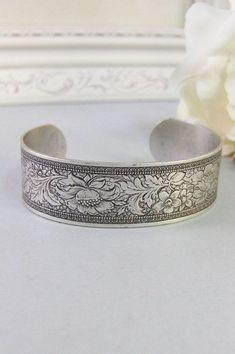 Nora,Bracelet,Cuff,Silver Bracelet,Cuff Bracelet,Bracelet,Silver,Antique Bracelet,Wedding,Bride.Handmade Jewelry by valleygirldesigns 26