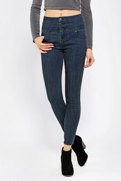 BDG Twig Super-High-Rise Seam Jean