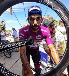 Fernando Gaviria still purple Stage 9 Giro d'Italia 2017