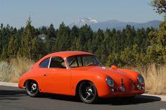 """1958 Porsche 356 Outlaw Coupe """"Orange Bomber"""""""