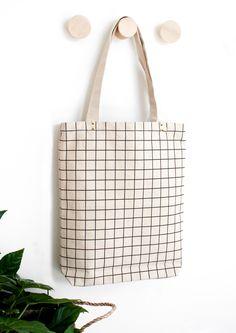 Mi-Pac Denim Spot Tote Bag-INDIGO//WHITE One Size