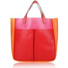 Anya Hindmarch Tricolor Rubber Tote