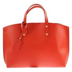 Loving this Red Leather Crossbody Tote   Pouch on f1d05899f9e