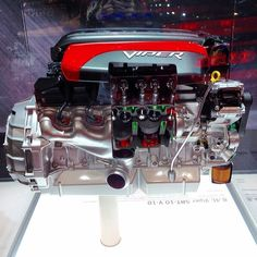 8.4L Viper SRT-10 V-10... Need we say more? As seen at the Chicago Auto Show