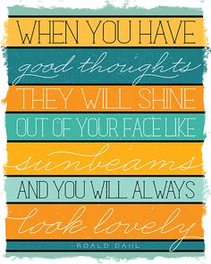 Inspirational Sunshine Quote Printable perfect for YW lesson 34 Manual 1--Worthy Thoughts