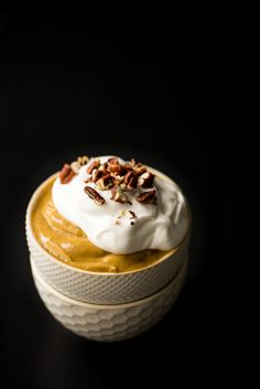 Vegan Pumpkin Pie Pudding