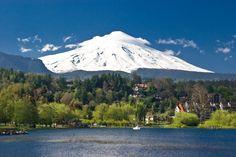 AYKXBK Pucon villas and Mt Villarica Chilean Lake District