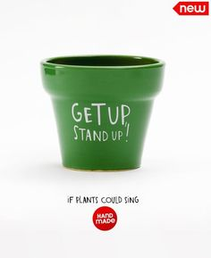 If Plants Could Sing: Funny Planter Pots For Black Thumbs