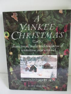 A New England Yankee Christmas How to Decorate for Christmas recipes by ReVintageLannie