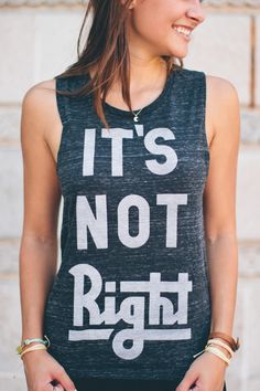 Human trafficking is modern-day slavery and it's NOT right! Raise awareness & your purchase supports the fight against sex trafficking in the United States.