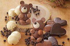 森の動物たちがスイーツに、リーガロイヤルホテルからクマ&ハリネズミモチーフのチョコレート