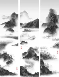 Phantom Landscapes by Yang Yongliang http://socks-studio.com/2014/04/04/phantom-landscapes-by-yang-yongliang/  The scenes created by Shanghai-based artist Yang Yongliang follow the composition rules of traditional Chinese Shan shui paintings but reinterpret them through the modern medium of photography. The pictures work on a double level: from far away they appear as mountainous landscapes in… Read more on: http://socks-studio.com/2014/04/04/phantom-landscapes-by-yang-yongliang/  ...