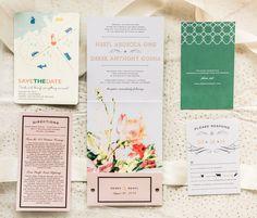 Cute wedding stationery. @weddingchicks