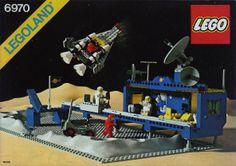 Legoland Set Beta-I Command Base . Classic Lego, Classic Toys, Manual Lego, Legos, Lego Vintage, Old Lego Sets, Technique Lego, Lego Spaceship, Cartoon Toys