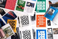 cool print city guides - Google Search