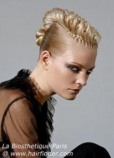 Peinados Recogidos con trenza 17
