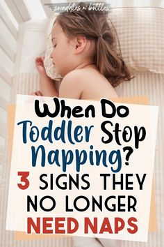 Is your toddler ready to stop napping? Once they hit a certain age, napping during the day could make sleeping through the night more difficult on them