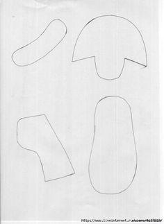 Molde para hacer zapatos para bebes (2)