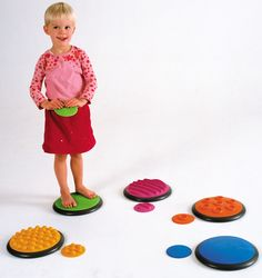 Gonge Tactile Disc: Set of 10