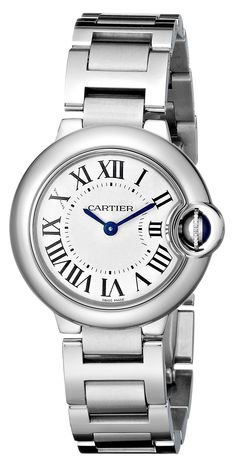 9b5dc32332f Cartier Women s Ballon Bleu Stainless Steel Dress Watch Cartier Ballon  Bleu