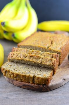 Gluten Free Banana Bread! Gluten free products are generally expensive...try making them yourself with this delicious recipe!