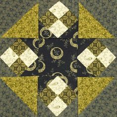 Civil War Quilt Blocks | In Sue's World: Civil War Quilts - Block 6