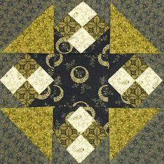 Civil War Quilt Blocks | In Sue's World: Civil War Quilts - Block 6
