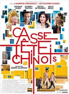 Casse-tête chinois de Cédric Klapisch (2013) - Avec Romain Duris, Audrey Tautou, Cécile de France, Kelly Reilly