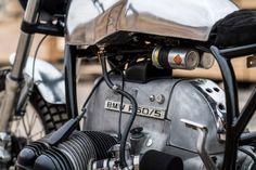 UNDER THE RADAR: TIM HARNEY'S MINIMALIST BMW CAFE RACER
