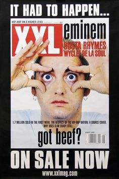 Eminem 2000 XXL Magazine Cover Poster Link to store: http://stores.ebay.com/Rock-On-Collectibles/Rap-Hip-Hop-Posters-/_i.html?_fsub=10102107&_sid=70220124&_trksid=p4634.c0.m322