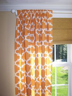 New Geometric CURTAINS Premier Prints by Cathyscustompillows