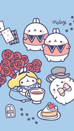 Molang in Wonderland