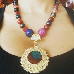 Collar piedras naturales  alice marie accesorios