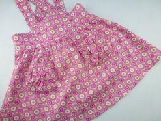 Vintage inspired pink toddler dress ready to ship original