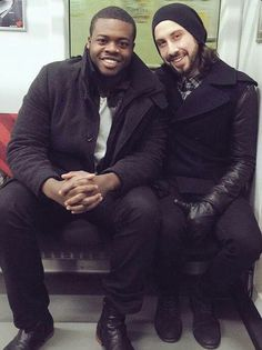 Avi and Kevin aka meat and potatoes - SO CUTE! #AVI #KEVIN #PTX