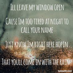 Come In With The Rain - Taylor Swift