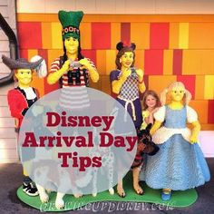 Arrival Day at Disney World may give you just a few hours.  Should you spend it in one of the parks or do something else?  Great suggestions!