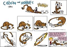 Calvin and Hobbes strip for April 8, 2018