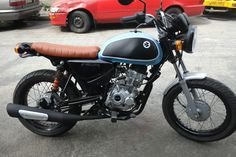 bajaj boxer 150 cafe racer - Buscar con Google Suzuki Gn 125, Cars And Motorcycles, Thor, Boxer, Vehicles, Projects, Cafe Racers, Passion, Google